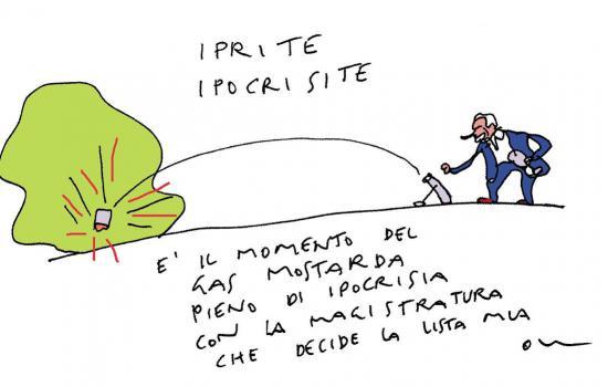 La vignetta di Vincino - 29 maggio 2015